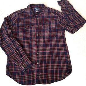 J. Crew Sportsmen Outfitters Plaid Button Shirt-M